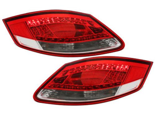 Stopuri LED Porsche Boxster 987 05-08 Cayman 06-09 rosu / clar