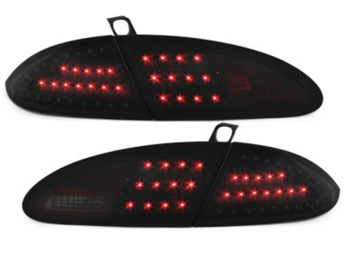 Stopuri LITEC LED Seat Leon 05-091P negru/fumuriu