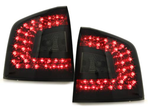 Stopuri LITEC LED Skoda Octavia 1Z 04+  rosu/fumuriu