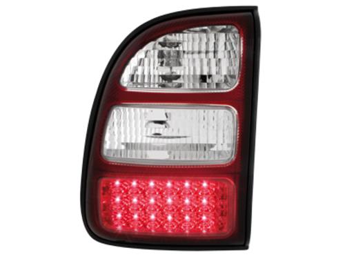 Stopuri LED Toyota RAV4 98-00  rosu/cristal