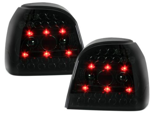 Stopuri LED VW Golf III 91-98_ negru / fumuriu