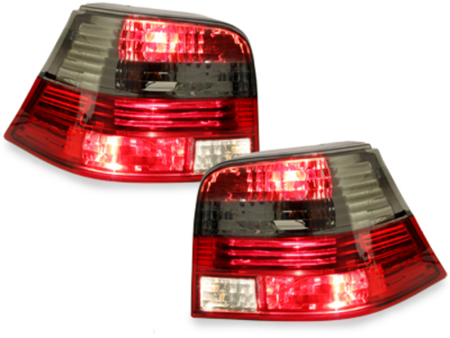 taillights VW Golf IV 97-04_red/smoke