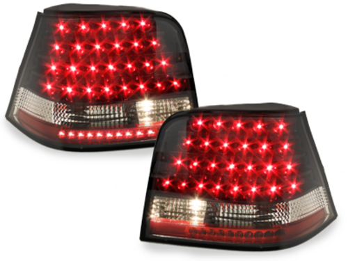 LED taillights VW Golf IV 97-04_black