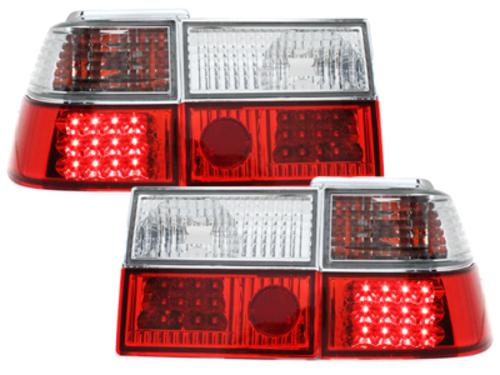 Stopuri LED VW Corrado 88-95 rosu/cristal