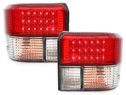 Stopuri LED VW T4 90-03_cristal rosu