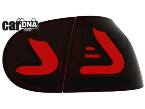 Stopuri CarDNA LED VW Golf V LIGHTBAR rosu/fumuriu