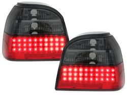 Stopuri LED VW Golf III 91-98 rosu/fumuriu