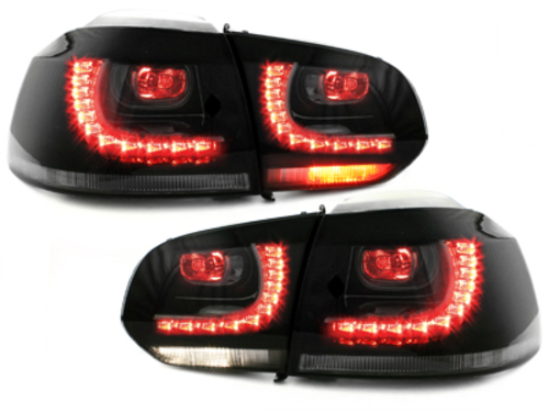 LED taillights VW Golf VI 08+_smoke_R-Look