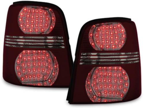Stopuri LED VW Touran 2003+ rosu/fumuriu