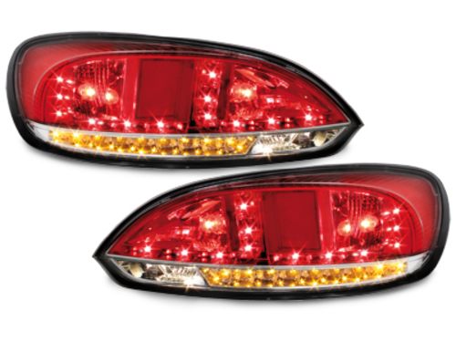 Stopuri LED VW Scirocco III 08 + indicator _LED Rosu/fumuriu
