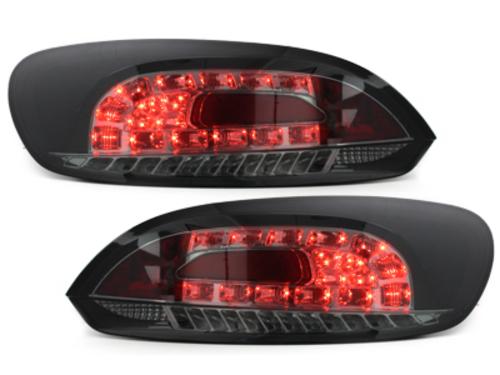 Stopuri LED VW SCIROCCO III 08+semnal LED negru/fumuriu