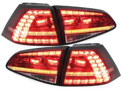 Stopuri DECTANE LED VW Golf VII 13+ Rosu/Clar