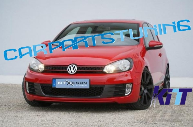 Grila centrala VW Golf VI GTI look 2008 - up