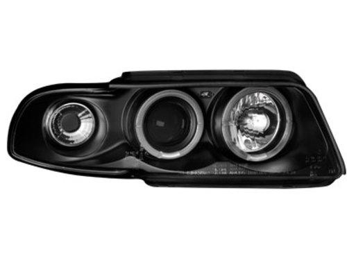 Faruri AUDI A4 B5 95-98  2 pozitier.  RHD negru