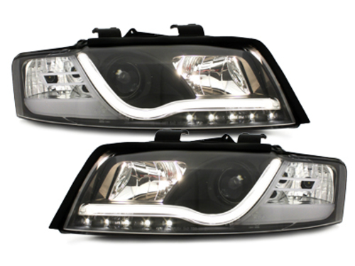 DECTANE headlights AUDI A4 8E daytime running light_black