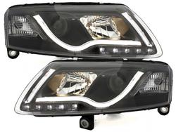 DECTANE headlights AUDI A6 4F 04-07 daytime running light bla