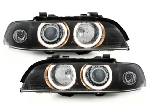 Faruri BMW E39 5er 95-00  pozitie angeleyes  negru