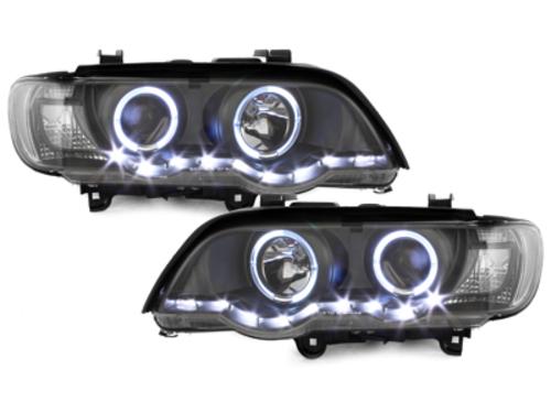 Faruri DAYLINE BMW X5 99-03 E53  2 SLR  negru