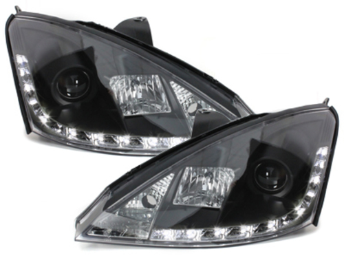 D-LITE headlights Ford Focus 98-01_daytime running light_bla