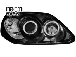 faruri Honda Civic 2/5D 96-98_2 CCFL angel eyes negru