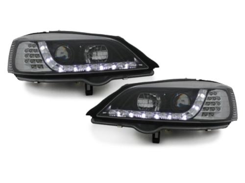 Faruri DAYLINE Opel Astra G 98-04    negru