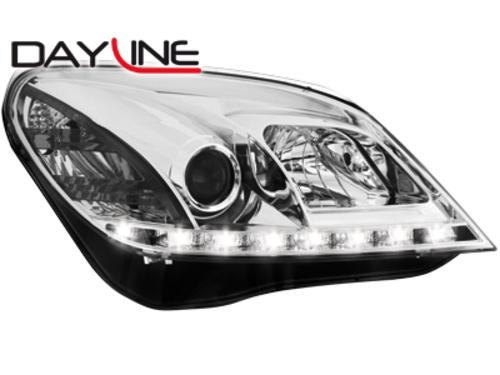 Faruri DAYLINE Opel Astra H 04-09  TFL Optik  chrom