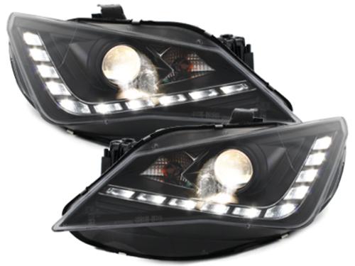 **Dectane headligths daytime running light Seat Ibiza 6J 12+_\