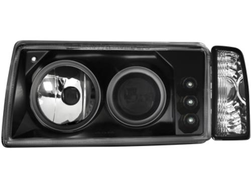 Faruri VW Polo 3 86C2S 91-94  negru