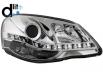 Faruri D-LITE VW Polo 9N3 05.05-09echipate cu lumina de zi LEDchrom
