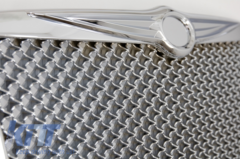 Front Grille Chrysler 300 C - Bentley Look Silver Edition