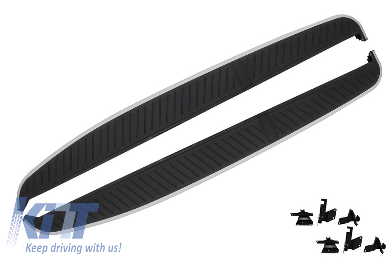Running boards Side Steps Land Rover Range Rover Sport L320 (2005-2013) with Pre-cut Door Sills
