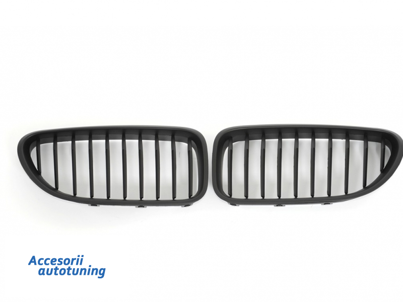 Front Grille BMW 6 Series F06 Gran Coupe (2012-up) Matte Black