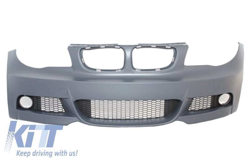 Front Bumper BMW 1'er E81/E82 E87/E88 (09-up) M-tech M-Technik Design