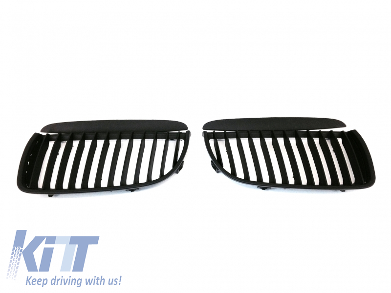 Central Grilles Kidney Grilles BMW 3 Series E90 Non Facelift (2005-2009)