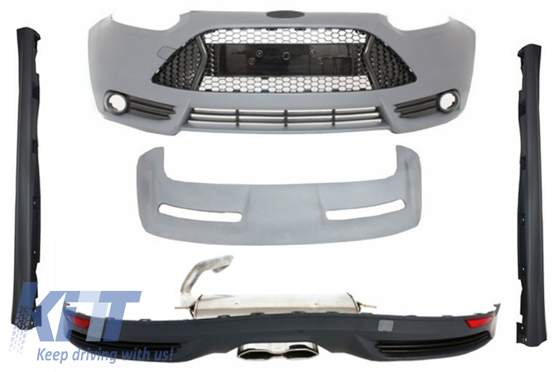 Pachet Exterior Complet Ford Focus 3 MKIII (2011-2014) ST Design