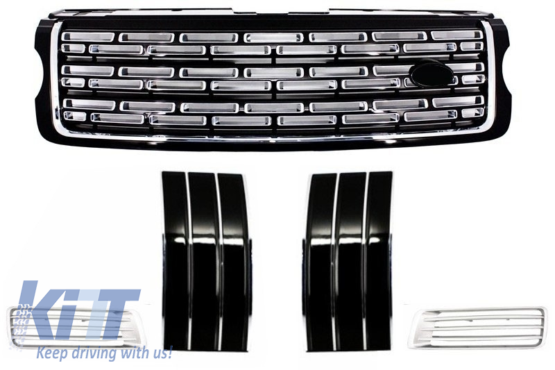 Range Rover Vogue L405 (2013-up) Autobiography Pack - Central Grille, Side Vents and Air Ducts Assembly Black Edition