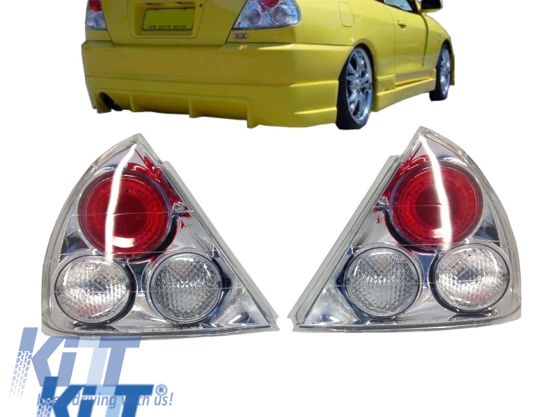 Taillights Mitsubishi Mirage Lancer 95-97 Coupe/Sedan Tail Rear Lights clear  - TLMILAC