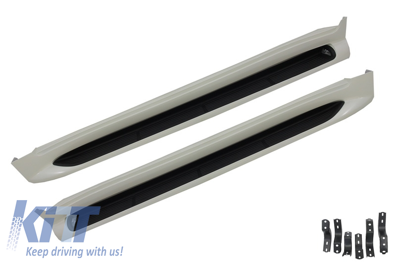 Running Boards Side Steps  Toyota Land Cruiser FJ200 OEM Design (2015-up)