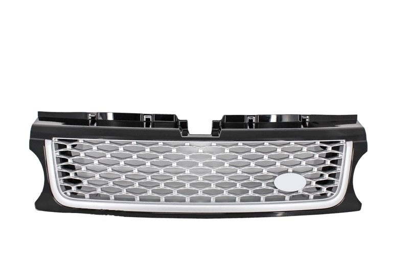Central Grille Land Rover Range Rover Sport 2009-2013 L320 Autobiography Look Black Silver Edition