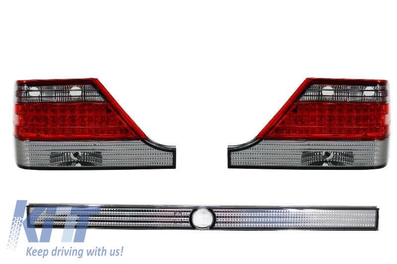 Taillights Mercedes Benz S-Class W140 SE SEL (1995-1999)