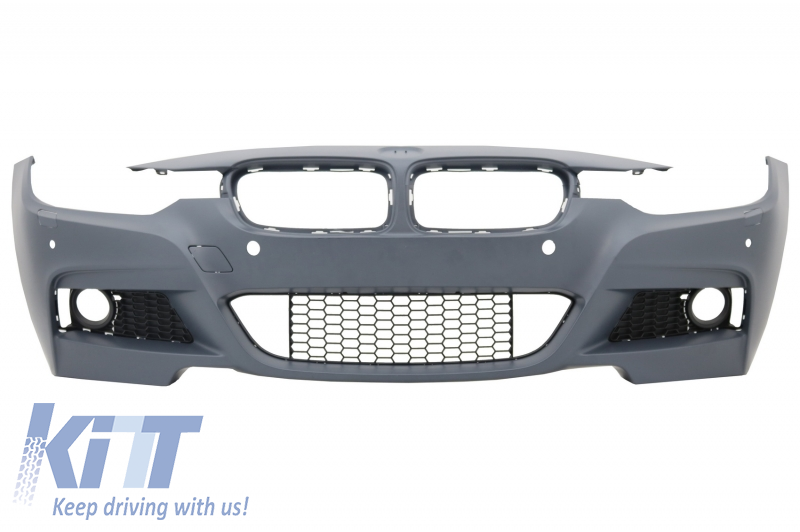 Front Bumper BMW 3 Series F30 F31 (2011-up) M-Technik W/Out Fog Lights - FBBMF30MTWF