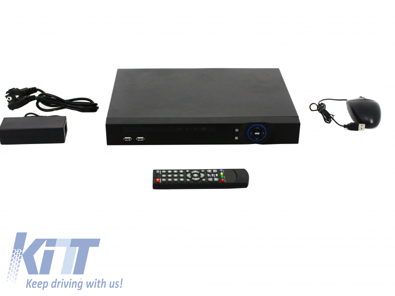 16 Channel DVR HD 1080P Analog Black Longse