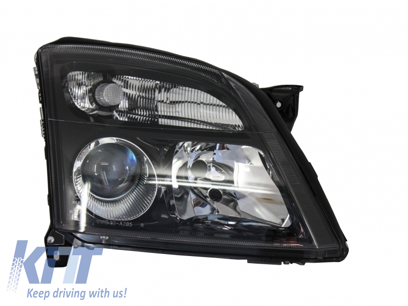 Opel Vectra C Opel Signum (2002-2005) Replacement Right Side Headlight Black Background 1825983