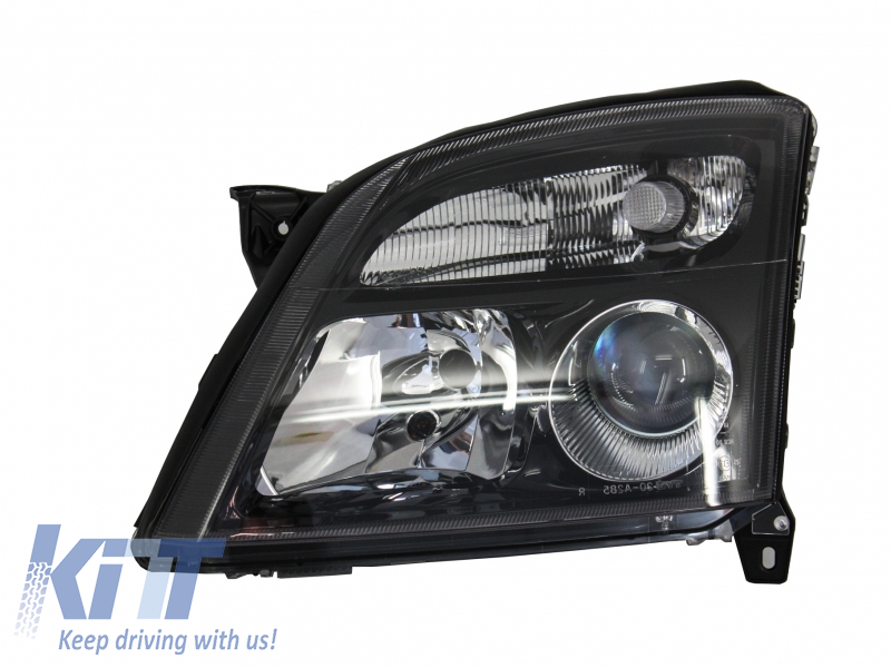 Opel Vectra C Opel Signum (2002-2005) Replacement Left Side Headlight Black Background 1825983