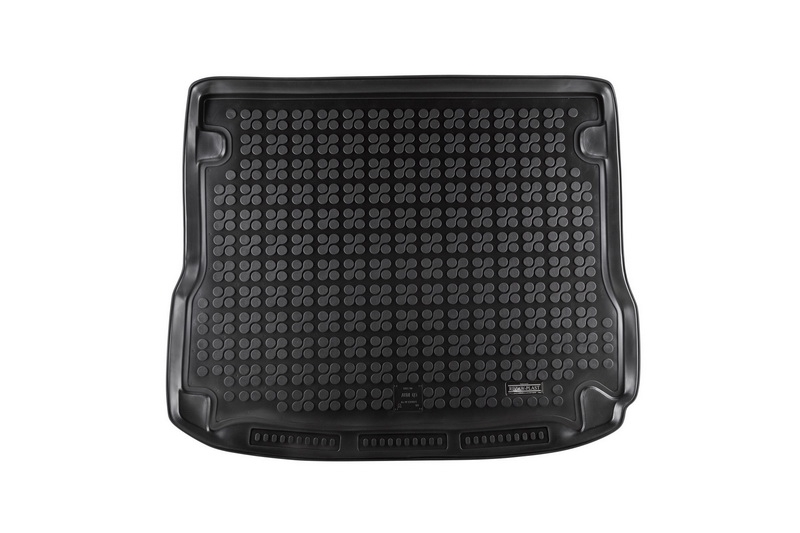 Trunk Mat Rubber Black AUDI Q5 2008-2013