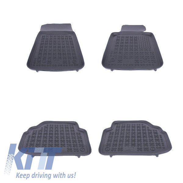 Floor mat Rubber Black suitable for BMW 3 E92 Coupe 2006+