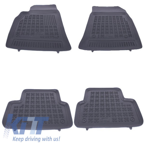 Floor mat Rubber Black CHEVROLET Cruze 2009+