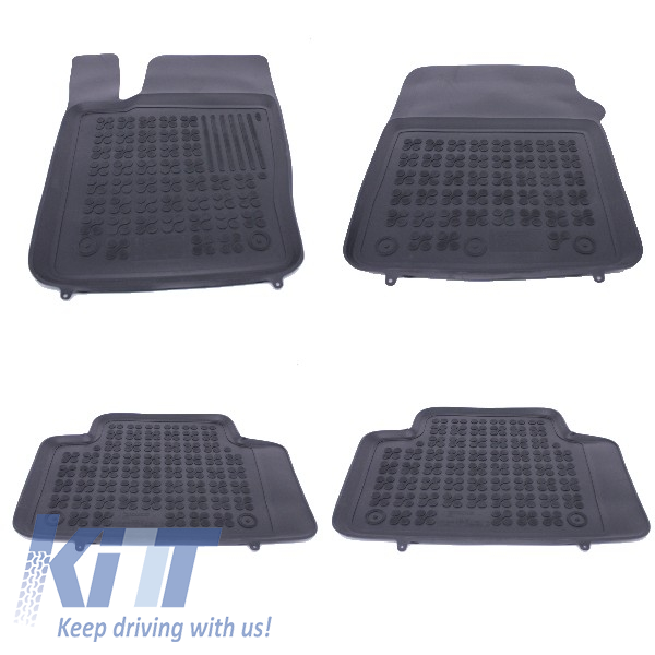 Floor mat rubber Black JEEP Grand Cherokee IV 2010+