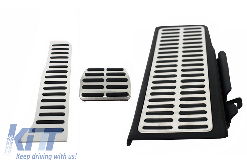 KIT OF PEDAL FOOTREST VW Passat B6(2005-2010), Passat B7(2010-2014), Passat CC Automatic