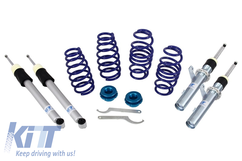 Height Adjustable Sport Coilover Suspension Kit VAG Group Volkswagen VW Golf 5 V (2004-2009) Golf 6 VI (2008-2013) Seat Leon 1P (2005-2012) Audi A3 8P (2003-2012) Scirocco III (2008-up) - ACVW04